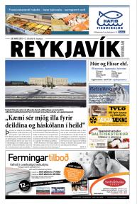 Reykjavík vikublað - 12. tbl. 6. árgangur 28. mars 2015