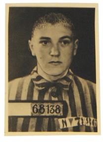 Fangi 68138, mynd af leif úr spjaldskrá Sachsenhausen-fangabúðana.